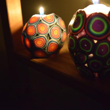 Millefiori Candles
