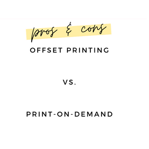 Offset Printing or Print-on-Demand: Which is the Right Choice for You?