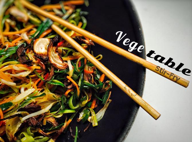 Zeleninové stir-fry