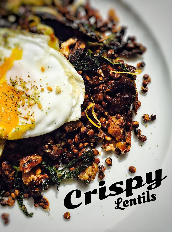 Crispy Lentils