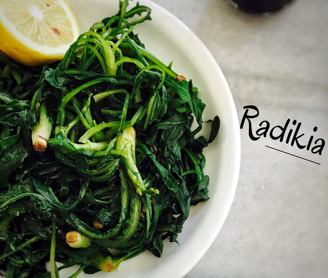 Radikia (pampeliškový salát)