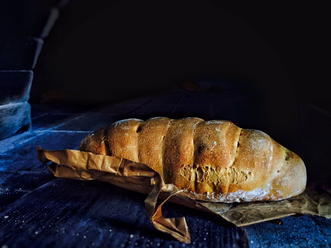 Jak jsme pekli krétský chléb