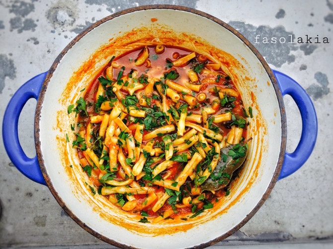 Fasolakia - řecké národní jídlo