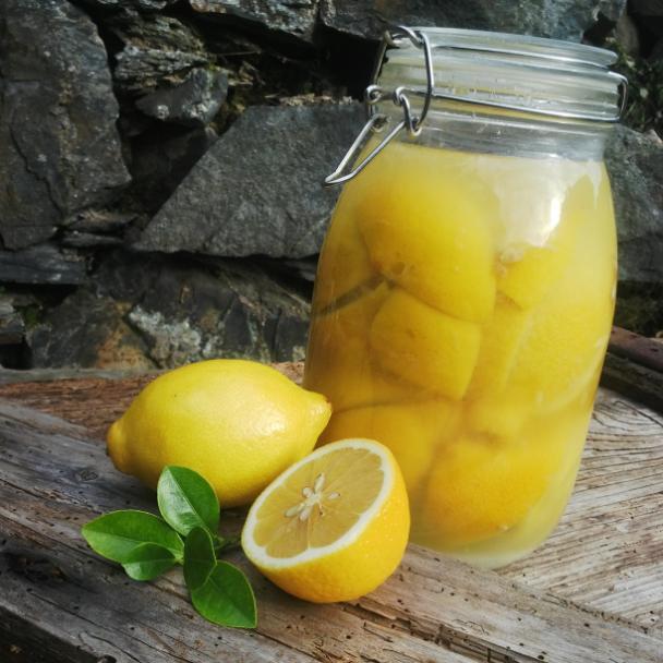 Marocké kvašené citróny
