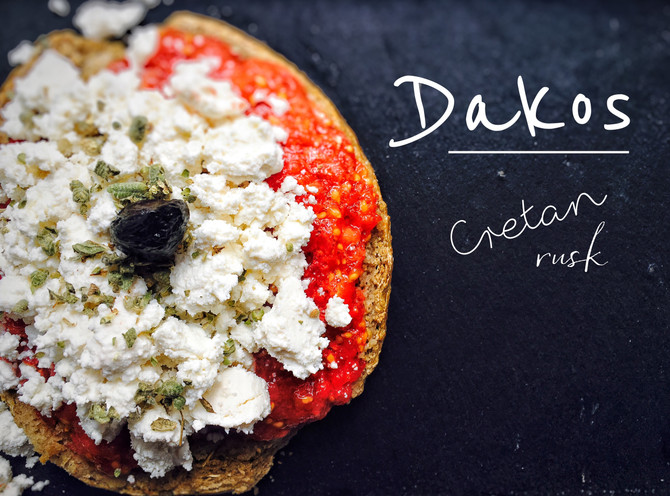 Dakos - Krétský suchar