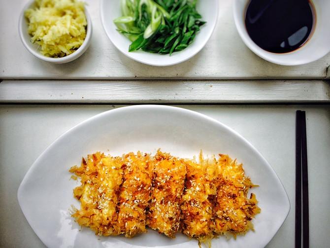 Sezamové tofu