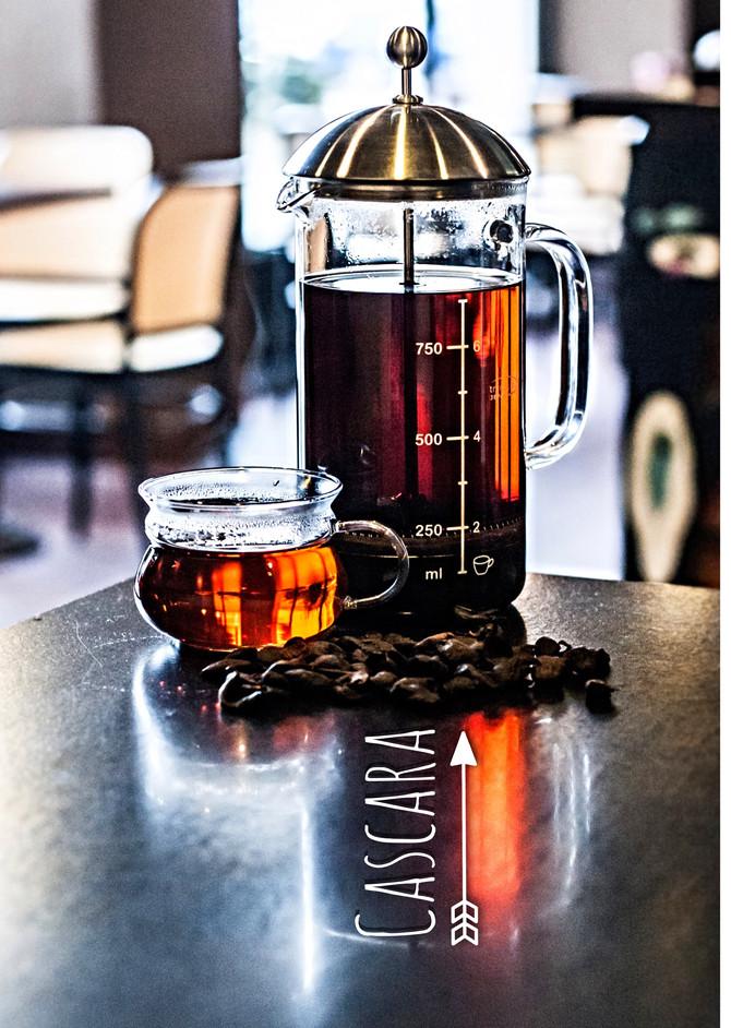 Cascara - Jemenské kávové slupky