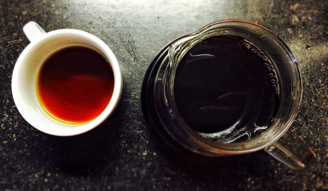 V60 - Filtrovaná káva