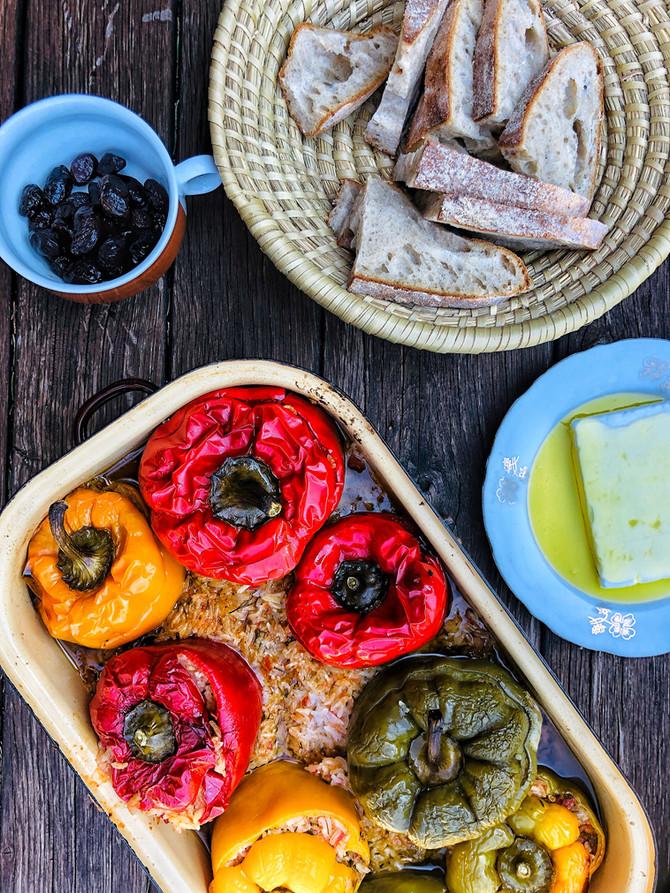 Jemista (plněné papriky)