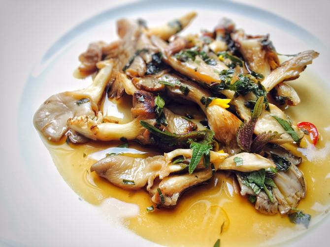 Japonské marinované houby
