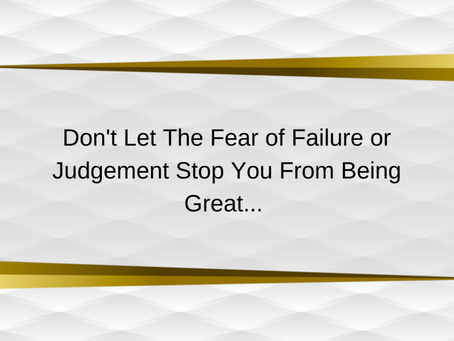 Motivational Quote | Fear of Failure | Out And About Business Solutions