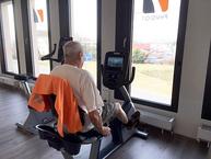 rééducation cardiovasculaire, machines vélo fitness médicalisé physio 7