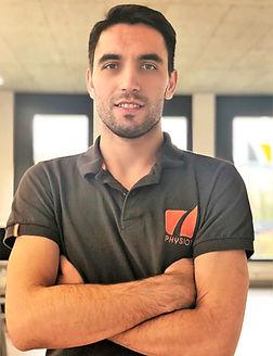 Marc-Alexandre Roger physiothérapeute chez Physio 7, spécialiste thérapie manuelle, sport et neurologie