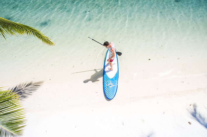 Recline At The Table - Paddle Boarding in Florida