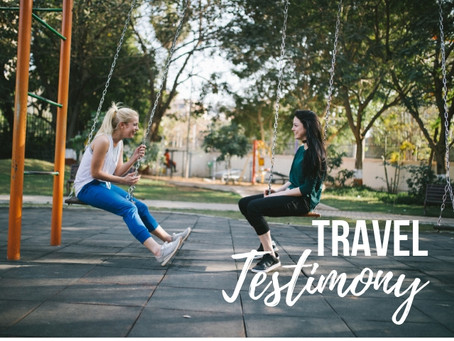 Giving Your Travel Testimony