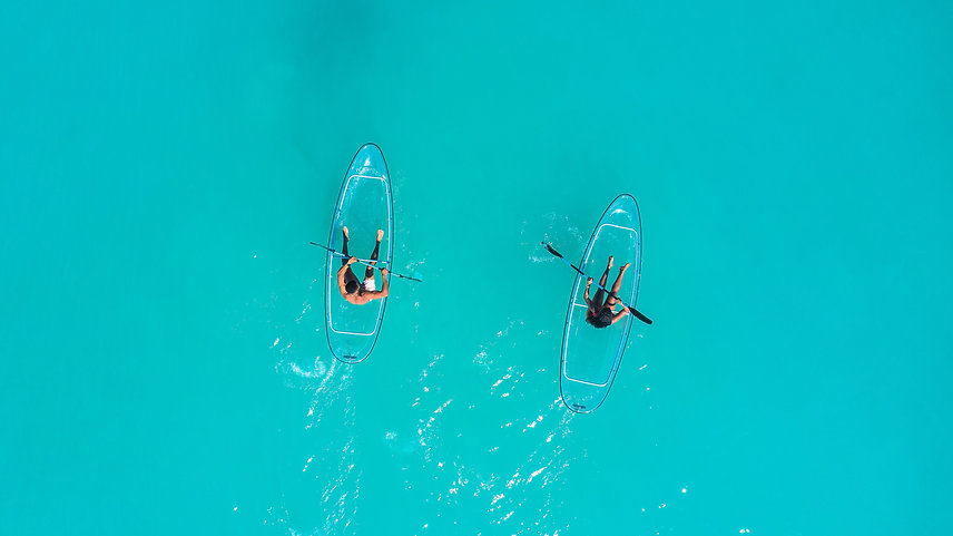 Recline At The Table - Kayaking in Florida