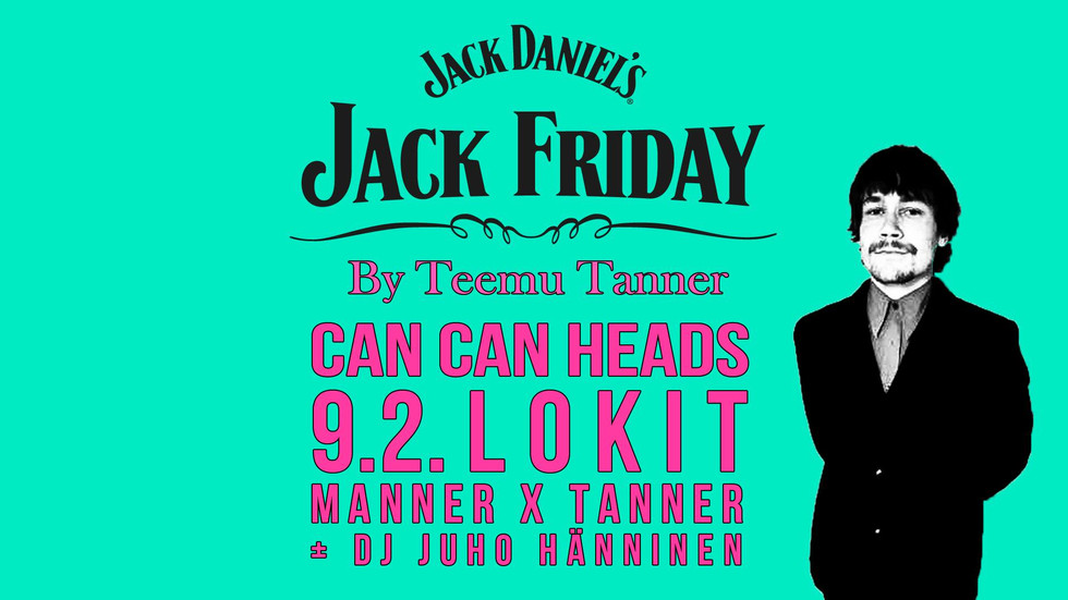 Can Can Heads at Bar Loose (Jack Friday)