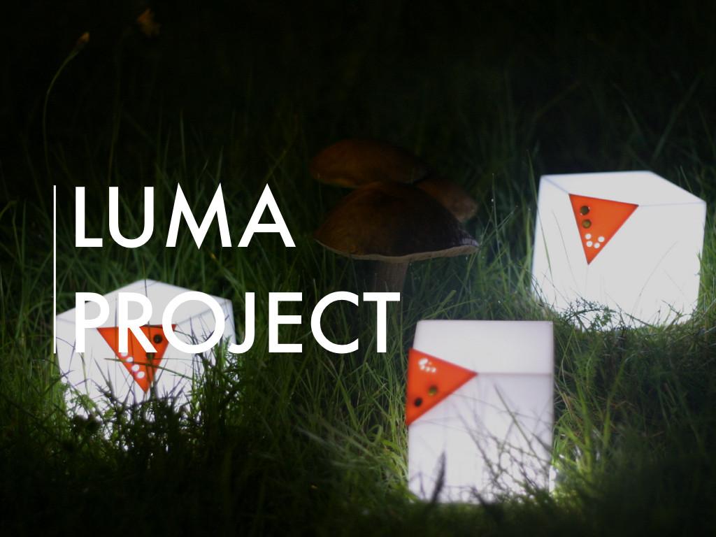 LUMA Interactive Light Project