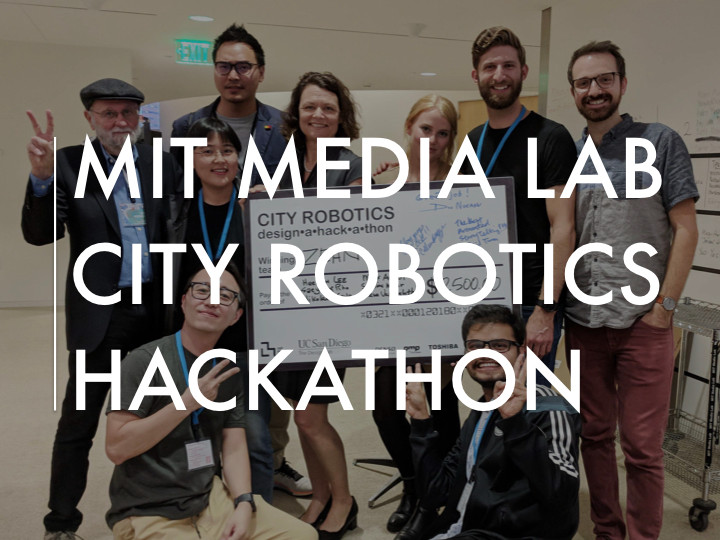 MIT Media Lab City Robotics Hackathon