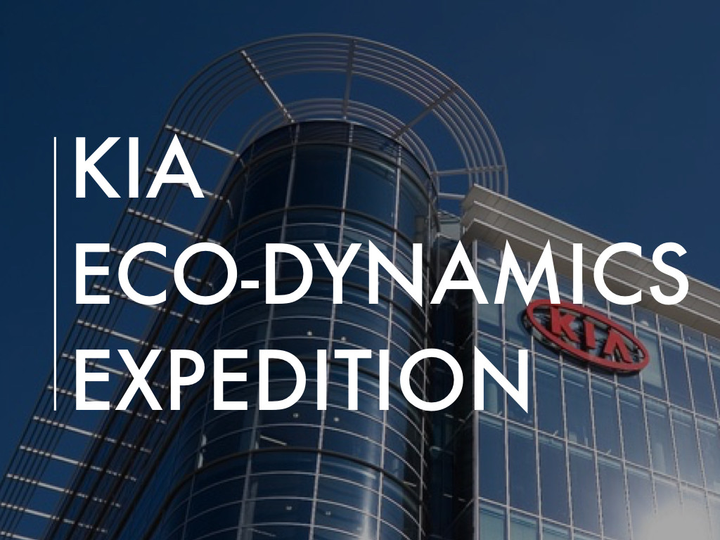 KIA Eco-Dynamics Expedition