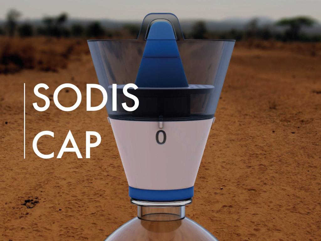 SODIS (Solar Water Disinfection) Cap