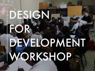 Design for DevelopmentWorkshop