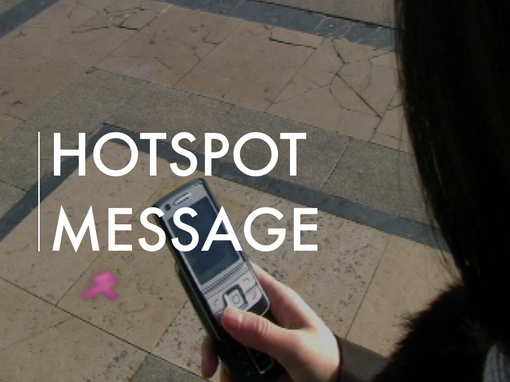 Nokia HotSpot Message Project