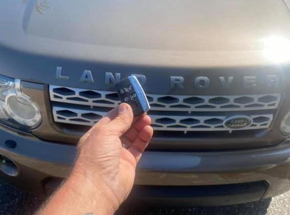 Land Rover Automotive Locksmith
