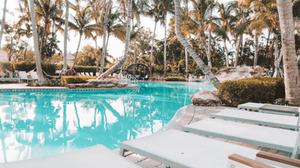 Havana Cabana Key West Florida pool and lush tropical resort