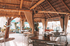 Havana Cabana Key West Florida lush tropical outdoor dining and bar tikihut