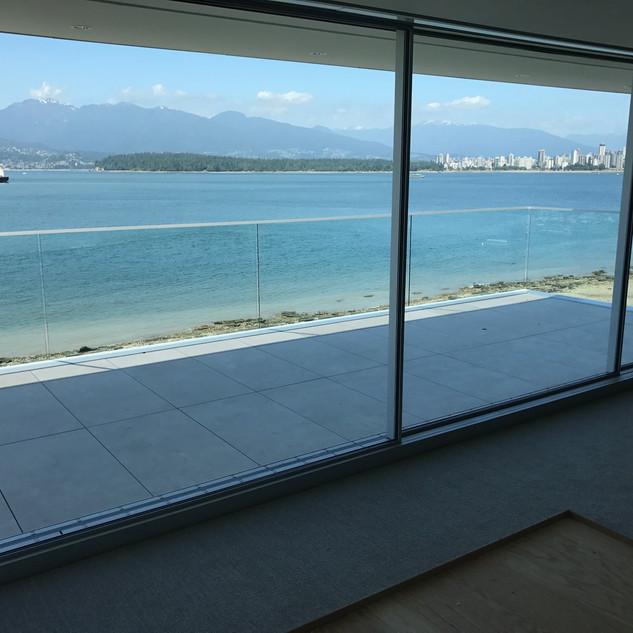 Lounge Room Glass Windows