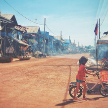Kid at Kompong Plouk Village