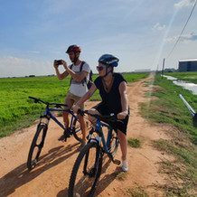 cycling to local village in siem reap.jp