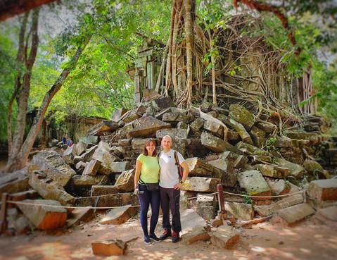 The Ruins at Beng Mealea