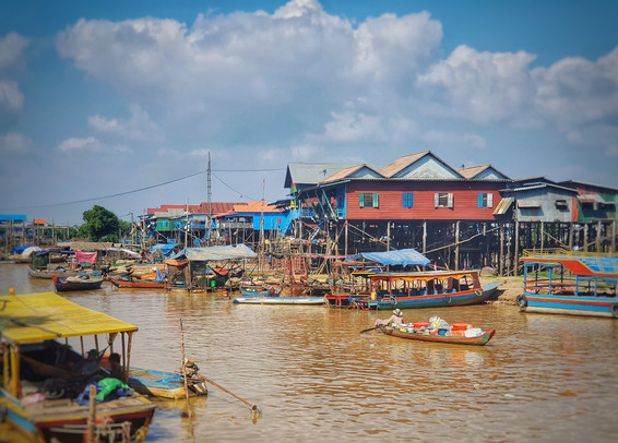 Kompong Plouk Village