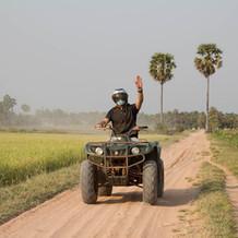Quad Bike in Siem Reap