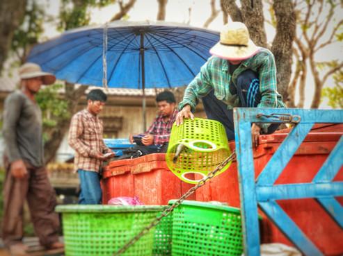 Fishermen at the Village
