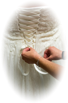 Lacing-Up The Dress