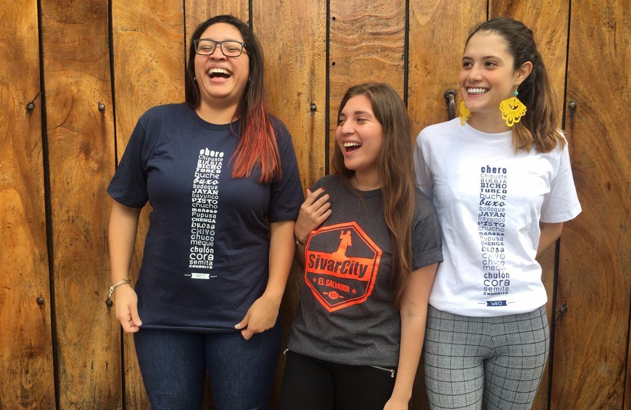 Camisetas El Salvador