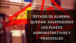 Incidencia de la declaración del estado de alarma en el ámbito de extranjería