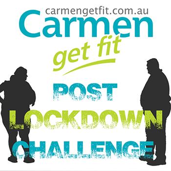 Carmen Get Fit Post Lockdown Challenge 2020