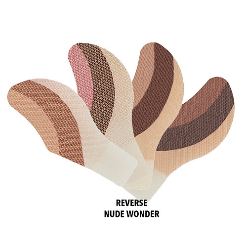 REVERSE NUDE WONDER eyeMajic Instant Eye Shadow 20 pairs 4 colour multipack