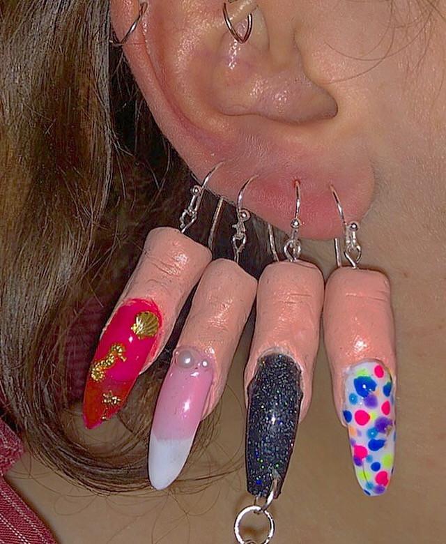 Finger Earrings