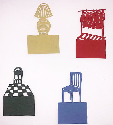 Cut Paper Objects 1