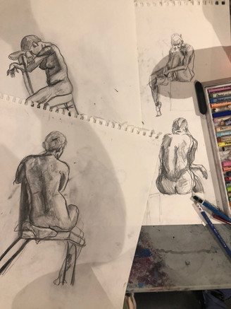 5 Min Figure Drawings