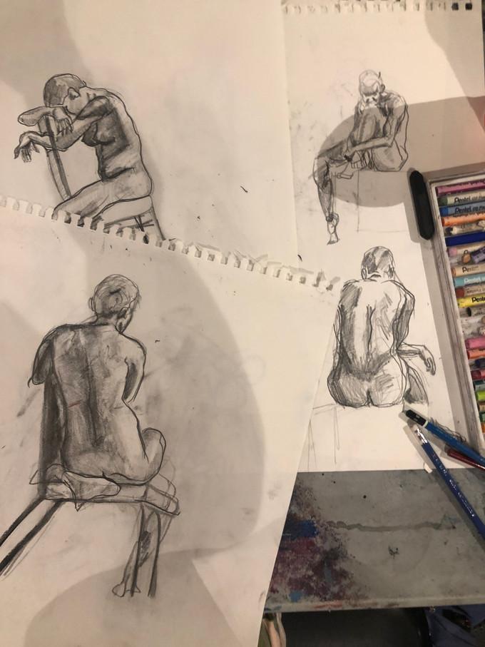 5 Min Figure Drawings