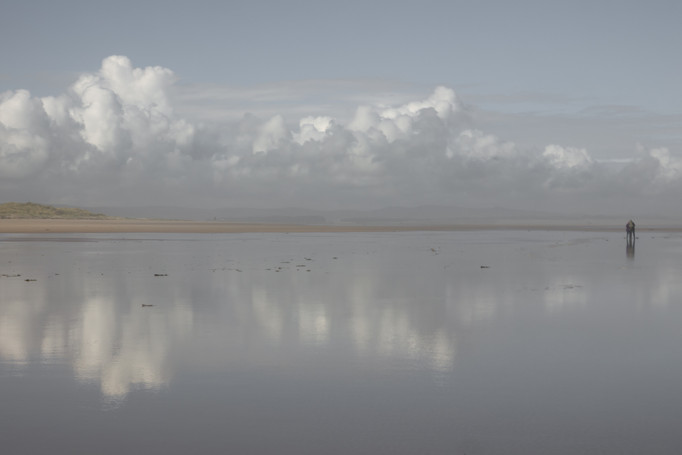 Clouds and reflections 1
