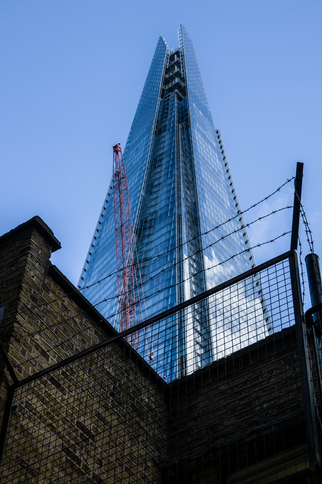 No entry to Shard