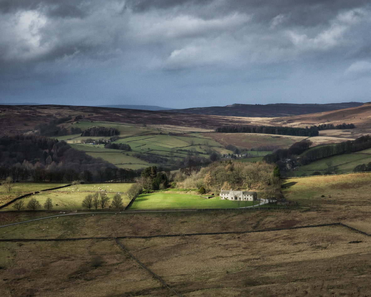 View over Hope Valley