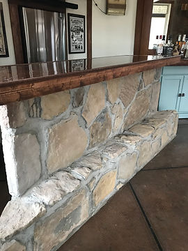 Bar with Stone Facing and Wood top.jpeg
